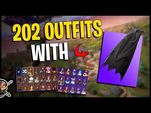 Coven Cape Back Bling on 202 Outfits | Sanctum - Fortnite Cosmetics