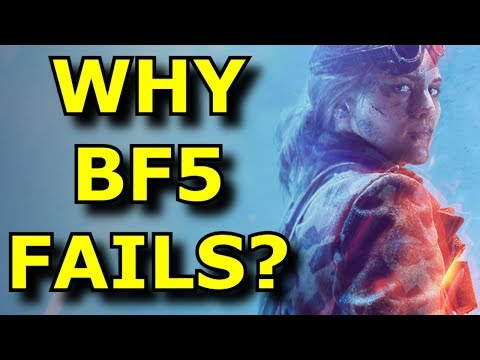 Why Did Battlefield 5 FAIL So Hard? - EA Rant