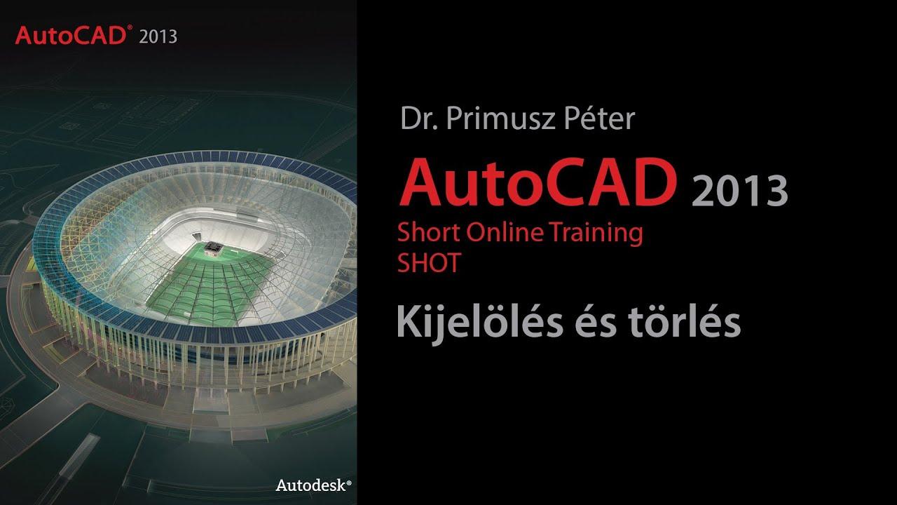 A kijeloles automatikus masolasa windows on 57 - Autocad 2013 Shot Kijel L S S T Rl S 1