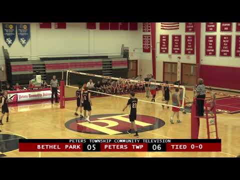 Peters Township High School Boys Volleyball vs. Bethel Park - April 30, 2019