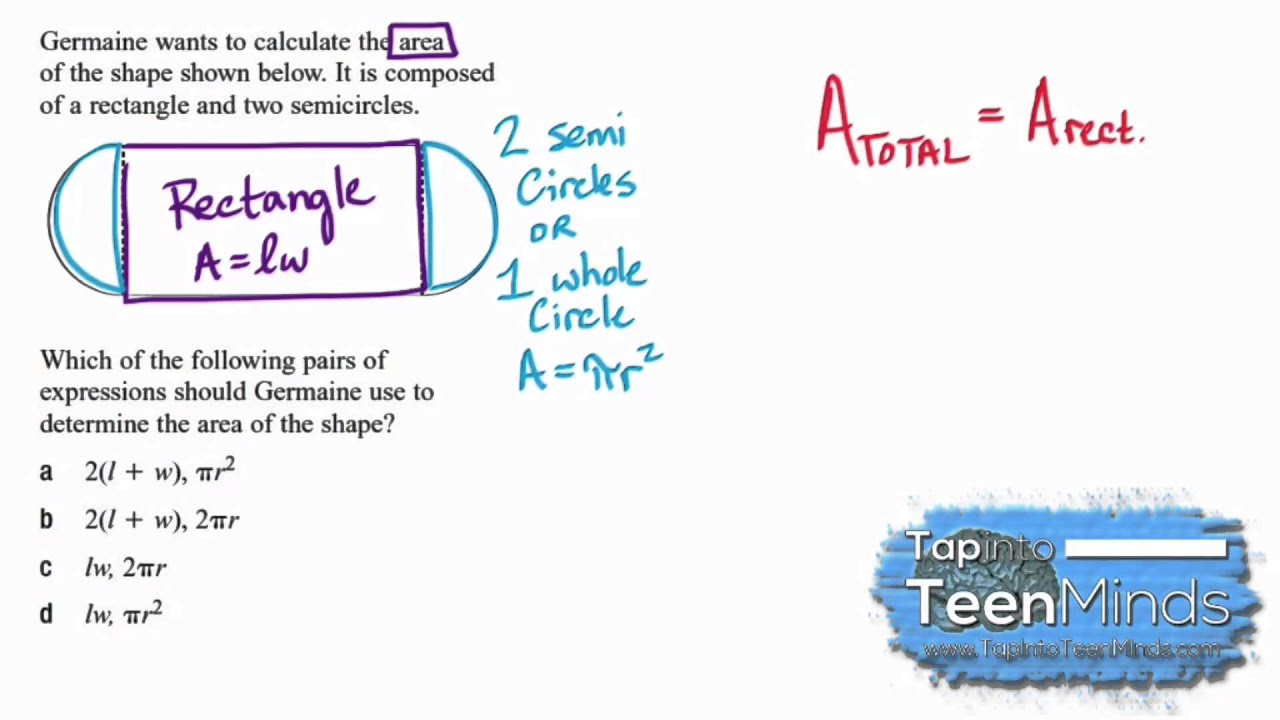 Algebraic Thinking  Creating A Formula For Area Of Aposite Figure  [silent Solution]