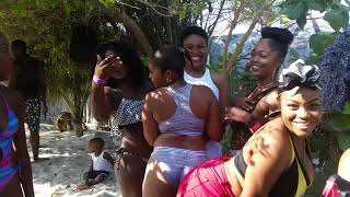 BEACH VLOG JAMAICA WITH JAMIE &KAHYAN🏖 🏝
