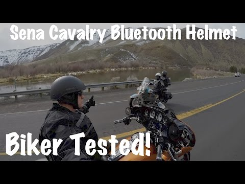 Sena Cavalry Bluetooth Half Helmet Review | Biker Tested