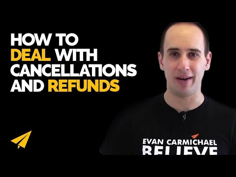 Refund Policy - How should you handle cancellations and refunds Mp3