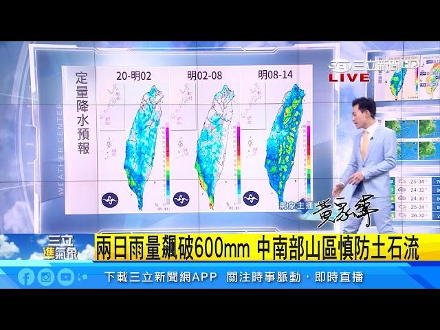 全台防午後雷陣雨 颱風最快這天生成|三立準氣象|20190818|三立新聞台