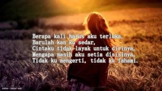 Andai Hatiku Bersuara - Chomel ft Rya Rahman (Lirik)