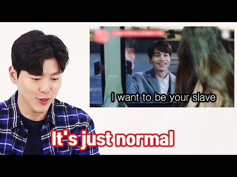 When Korean Men Watch Korean Romantic Dramas