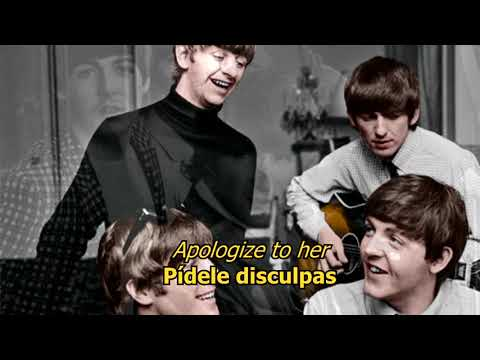 She loves you- The Beatles (LYRICS/LETRA) [Original]