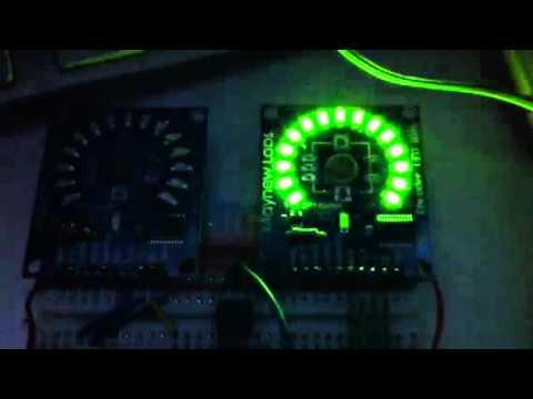 mayhew labs rotary encoder led ring midi pwm test youtube. Black Bedroom Furniture Sets. Home Design Ideas