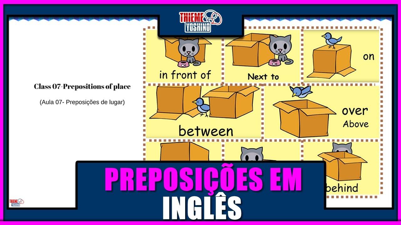 Preposition In Learn In Marathi All Complate: APRENDA AS PREPOSIÇÕES EM INGLÊS [IN, ON, NEXT TO, UNDER