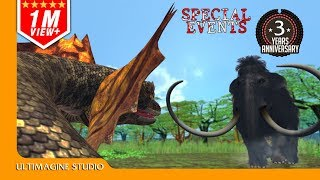 Titannoboa VS Mammoth : Dinosaurs Battle Special HD
