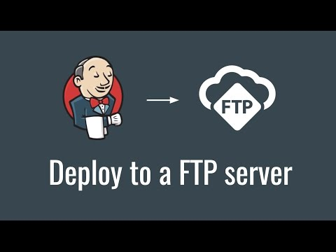 Deploy To A FTP Server (Get Started With Jenkins, Part 8)