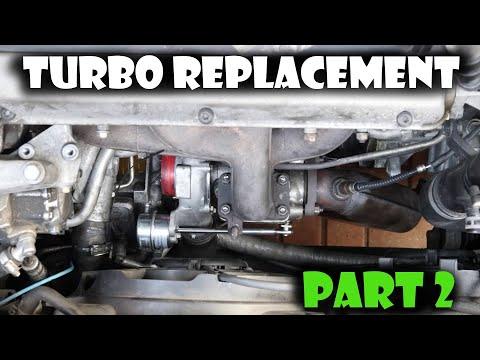 How to replace a GM Saab Garrett Turbo Tutorial Part 2