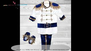 Royal Prince 1st Birthday Outfit, Baby Boy Prince Costume, Cake Smash Boy Outfit - Boys Party Wear Suits