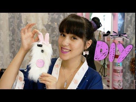 DIY I Fluffy Bunny Handyhülle