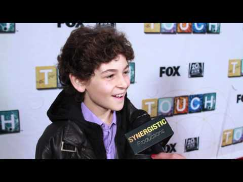 David Mazouz - Touch - Getting Into the Jake Bohm Character