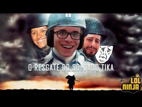 O RESGATE DO SOLDADO TIKA  | LOL Ninja