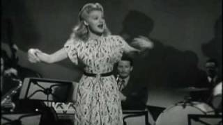 "Betty Hutton in ""Doctor, Lawyer, Indian Chief"" Number"