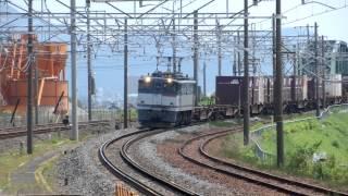 〈5087レ〉EF65-2076 北旭川⇒梅田 東洋インキ 2012.7.9@穂積