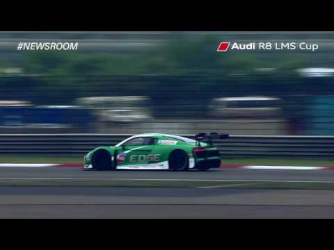 Audi R8 LMS Cup Round 2 Highlights – Shanghai - May 2016