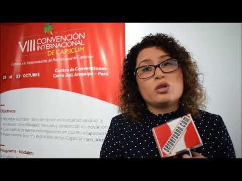 VIII Convención De Capsicum,Entrevista A Paula Carrión.Video Reporte.-   Javier Espichán