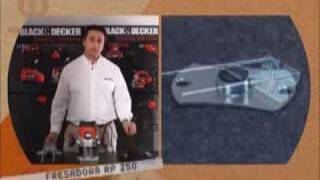 Herramientas para todos TV - Demo fresadora RP250 Black and Decker