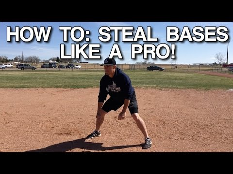 How To STEAL BASES Like A Pro!