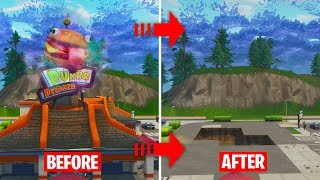 GREASY GROVE IS GETTING DESTROYED RIGHT NOW BY THE PORTAL! (Fortnite: Battle Royale)
