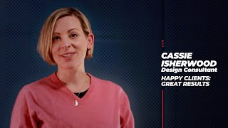 CASSIE ISHERWOOD testimonial - Shepherd Lamalle Film & Animation