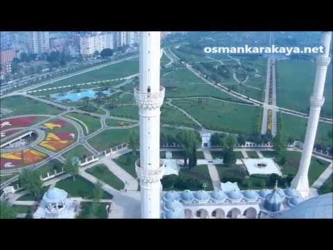 Sabancı Merkez Camii Minaresinden Adana Manzarası - YouTube
