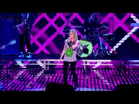 Avril Lgne - What The Hell & Smile  Britains Got Talent 0106