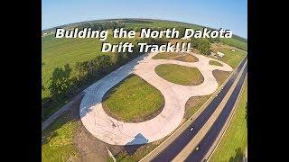 ¡Construyendo la pista de deriva de Dakota del Norte! (Roblox)
