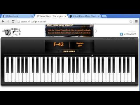 Beethoven - Love Story Virtual Piano Terk