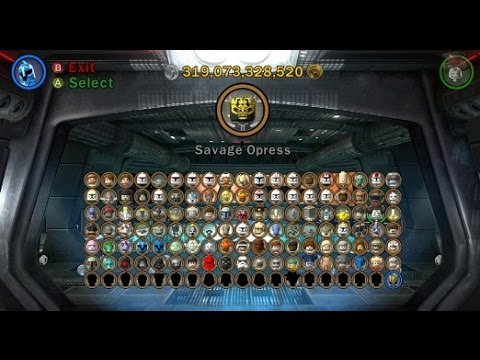 LEGO Star Wars III: The Clone Wars - A Look at All Playable Characters