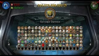 LEGO Star Wars III: The Clone Wars - A Look at All Playable Characters(This video shows off all of the playable characters in LEGO Star Wars 3. This is my final video for LEGO Star Wars III: The Clone Wars. LEGO Star Wars III: The ..., 2014-07-22T09:00:04.000Z)
