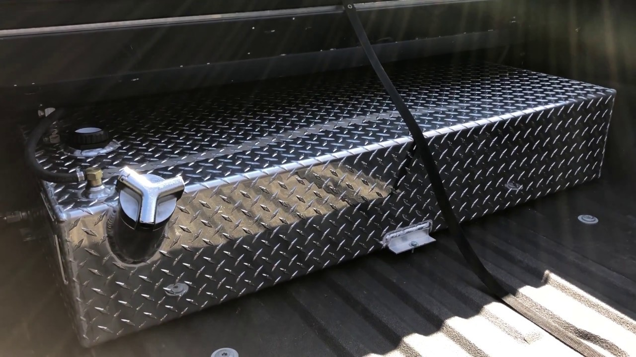 Hook up auxiliary fuel tank