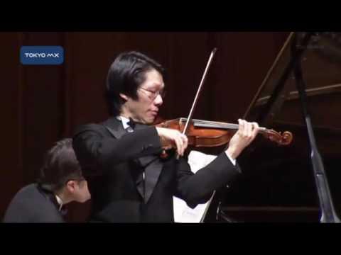 川畠成道さん チャリティーバイオリンコンサート