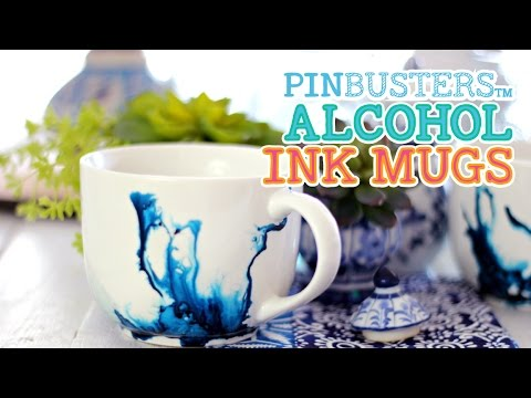 Alcohol Ink Mugs Brighten Up Your Morning Coffee Youtube