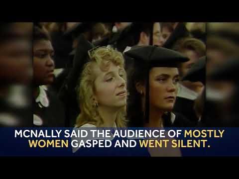 Look back: Barbara Bush's controversial Wellesley College speech