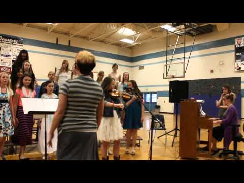 New Plymouth Middle School 6 grade choir 2015