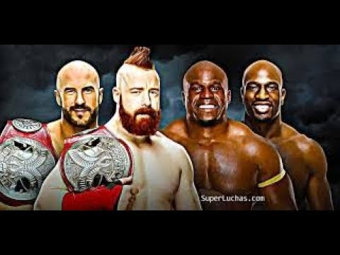 Elimination Chamber / The Bar vs Titus World Wide / Tag Team Championship Match / WWE 2k18 Sim