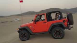 Saudi Arabia Crazy People in the Desert...