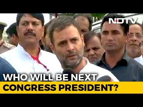Rahul Gandhi For Broader Consultation To Pick Congress Chief: Sources