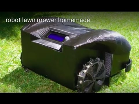 homemade robotic lawn mower