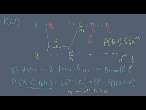 Randomized Algorithms - Finding median in linear time