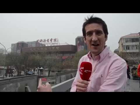 Rob Walker's Backstage Tour at the China Open!