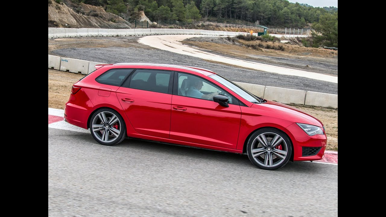 seat leon st cupra im test 2015 fahrbericht des sportlichen kombi youtube. Black Bedroom Furniture Sets. Home Design Ideas