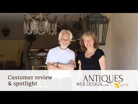 Antiques Web Design by ph9 - Norfolk Decorative Antiques - Customer Spotlight / Review
