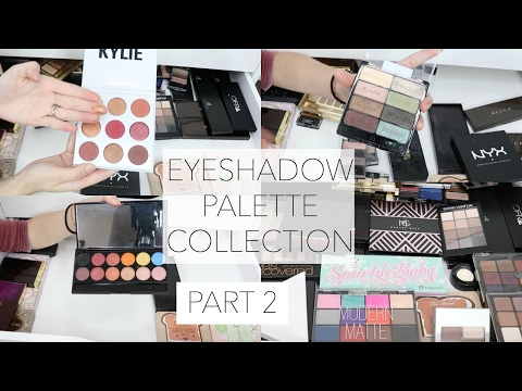 Makeup Collection Storage Eyeshadow Palettes