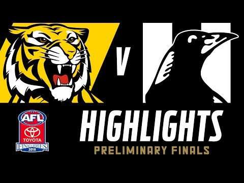Richmond v Collingwood Highlights | Preliminary Final, 2018 | AFL
